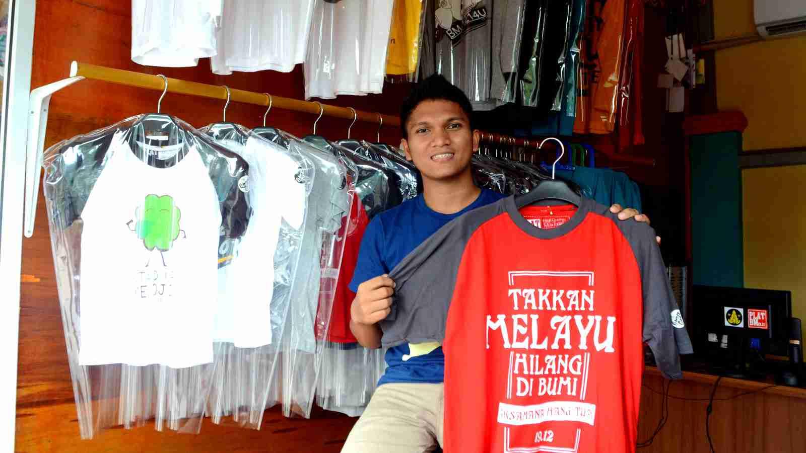 Grosir Kaos Distro Bandung Murah, Kualitas Terjamin Made in Bandung