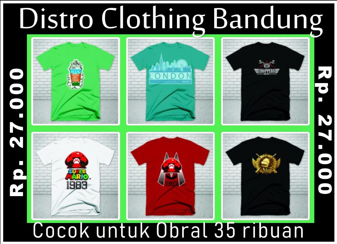 Bisnis Distro Murah di Bandung 2019 2018